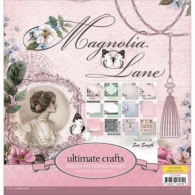 "Ultimate Crafts Magnolia Lane Double-Sided Paper Pad 12""X12"" 24/Pkg"