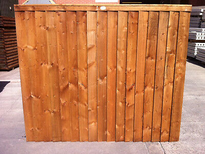 Fence panel. Pressure treated 6x5 feather edge panel