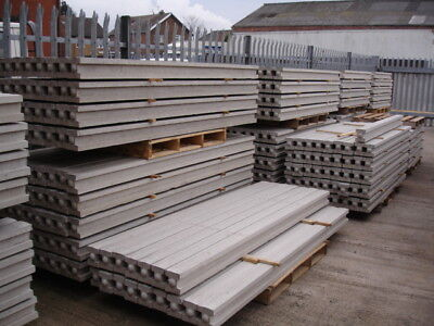 Concrete Slotted Posts 8ft
