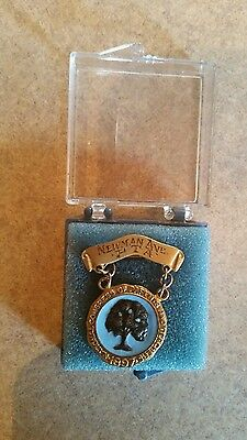 Vintage 1897 National Congress of Parents And Teachers Tree Pin PTA: Newman Ave