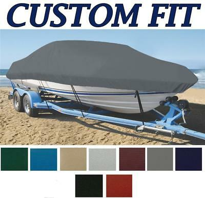 9oz CUSTOM EXACT FIT BOAT COVER LARSON Senza 165 BR / CB O/B ALL YEARS