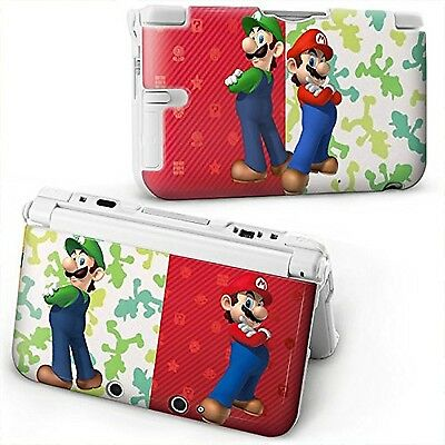 MARIO BROS Protective HARD plastic CASE COVER For OLD STYLE Nintendo 3Ds xl