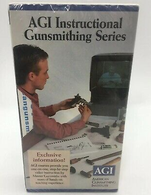 AGI Instructional Gunsmithing VHS Tape Factory Sealed  It/55