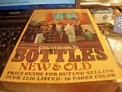 Officialguide To Bottles New And Old  3Rd Edition 1977