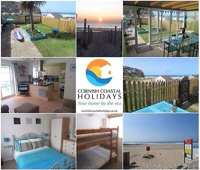 Self-catering sea view accommodation by beach in Cornwall. 9-16 SEPTEMBER 2017