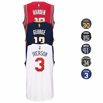 NBA Adidas Official Team Players Climacool Swingman Jersey Collection - Men's