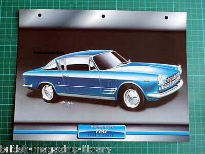 Fiat 2300 S Coupe - Dream Cars Atlas Edition