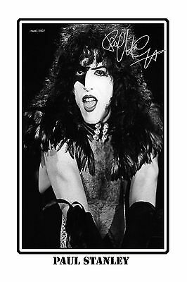 4x6 SIGNED AUTOGRAPH PHOTO PRINT OF PAUL STANLEY #26