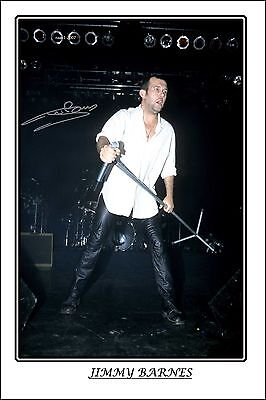 4x6 SIGNED AUTOGRAPH PHOTO PRINT OF JIMMY BARNES #26