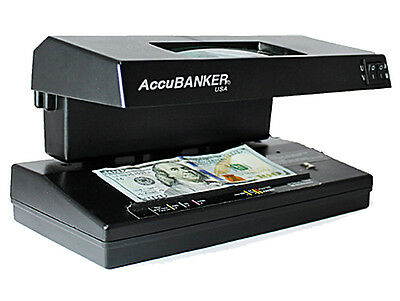 AccuBANKER D66 Banker Pro Counterfeit Detector (UV/MG/WM/MP), Compact & portable