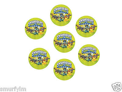 Skylander Swap Force Logo 30 Cup Cake Topper Party 3.75Cm Cut Out Edible