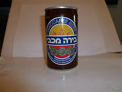Empty MACCABEE BEER CAN From Israel 1991