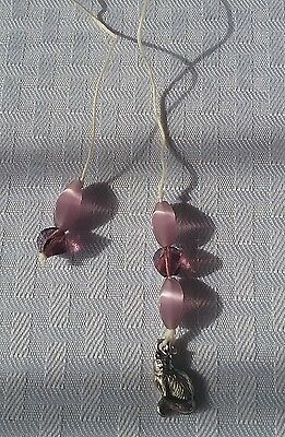 Handmade Beaded With Charm Thong Bookmark #240 100% To Animal Outreach Society