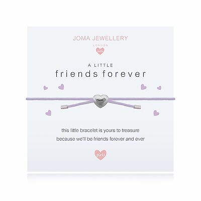 Joma Jewellery Girls A little Friends Forever CHILDRENS Friendship bracelet, bag