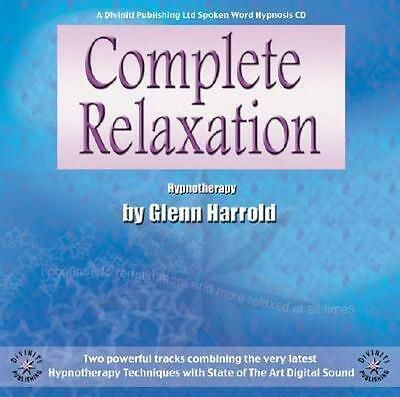 NEW Complete Relaxation By Glenn Harrold Audio CD Free Shipping
