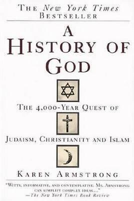 NEW A History of God By Karen Armstrong Paperback Free Shipping