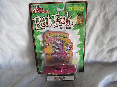 Racing Champions New  RAT FINK die cast with FIGURE new and sealed (BH)