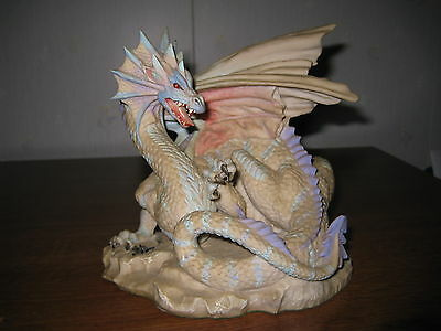 "Enchantica Winter Dragon  ""Grawlfang"" Vintage Retired 1991"