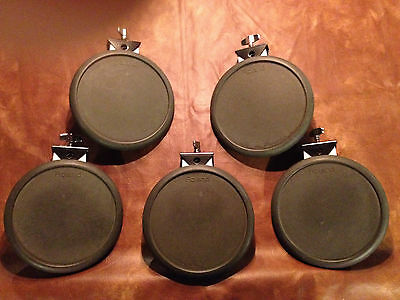 """5x Roland V Drums PD-6 Pad - 8.5"""" Drum Pad - Electronic Drum pad Set - Snare/Tom"""
