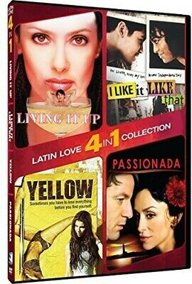 4-in-1 Latin Romance: Yellow, I Like It Like That, Living It Up [New DVD]