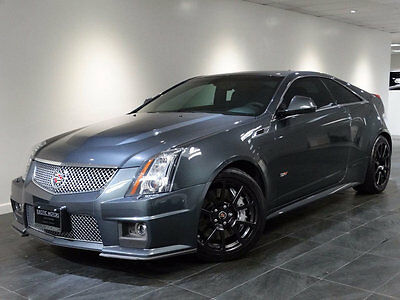 2012 Cadillac CTS V Coupe 2-Door 2012 CTS-V COUPE SUPERCHARGED NAV REAR-CAM A/C&HTD-SEATS556HP BOSE REMOTE-START