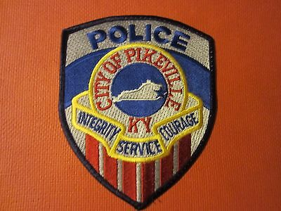 Collectible Kentucky Police Patch Pikeville New