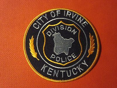 Collectible Kentucky Police Patch Irvine New