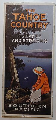 Southern Pacific Railroad 1914  Brochure - The Tahoe Country