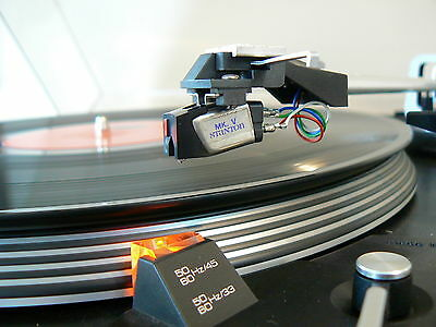 DUAL 522 TURNTABLE w/ STANTON MK V -- NEW STYLUS, BELT -- SERVICED -- Minty