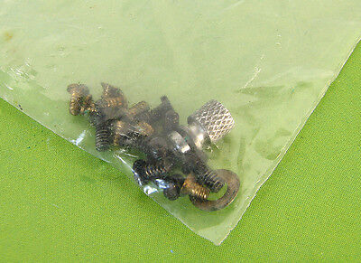 Rolleiflex Rolleicord V TLR Camera's Lot of Screws- Genuine Parts