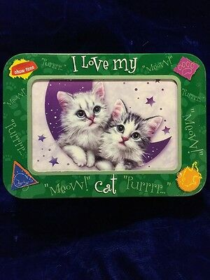 Wish Upon A Star Cat Lovers Note Card Set + Tin/Frame Box