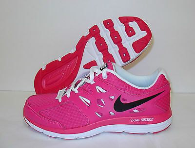 New Girls Nike Dual Fusion Lite (GS) Running Shoes Youth 4Y