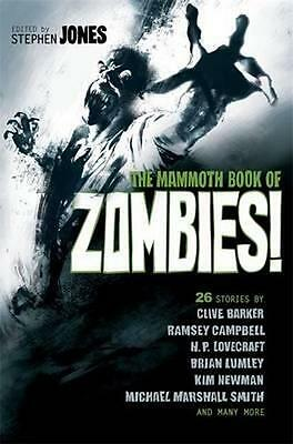 NEW The Mammoth Book of Zombies By Stephen Jones Paperback Free Shipping