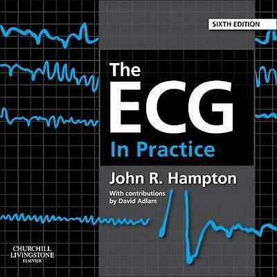 NEW The ECG in Practice By John Hampton Paperback Free Shipping