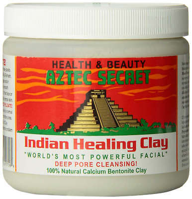 Indian Healing Facial Clay By Aztec Secret 1 Lb No Additives 100 Natural