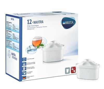 BRITA MAXTRA Water Filter Cartridges Drinking Home Accessory - Pack of 12