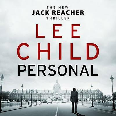 NEW Personal By Lee Child Audio CD Free Shipping