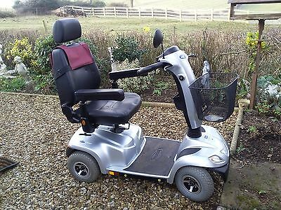 Invacare ORION Mobility Scooter - 4 wheels - Silver