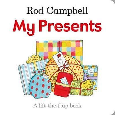 NEW My Presents By Rod Campbell Board Book Free Shipping