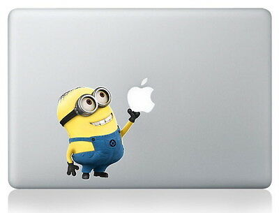 "MINIONS [Despicable Me, Minion] Laptop Vinyl Sticker for MacBook 13"",15"" or 17"""