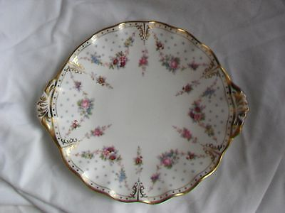 Royal Crown Derby Royal Antoinette Bread & Butter Plate 1st Quality