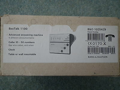 Bang & Olufsen  B&O Beotalk 1100 Answer Machine Perfect Condition.