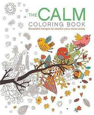 NEW The Calm Coloring Book By Patience Coster Paperback Free Shipping