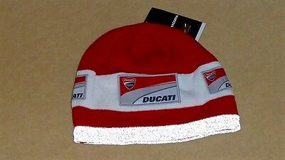 2015 Ducati Motogp Team Issue Winter Beanie With Reflective (Rare, New)