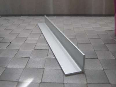 Aluminium Extruded Angle Various Size Lenght 500 - 2000 Mm