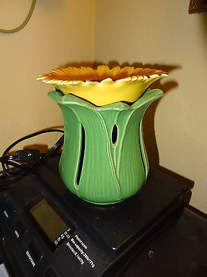 Party Lite Scent Glow Tuscan Sunflower Warmer--