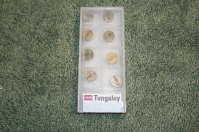 Tungaloy   Ceramic Inserts     Rngn33 To525    Sealed Pack Of 10  **special Sale