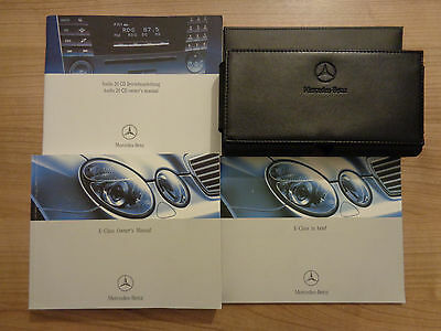 Mercedes Benz E Class Owners Handbook/Manual and Pack 02-06