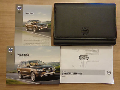 Volvo XC90 Owners Handbook/Manual and Wallet 13-14