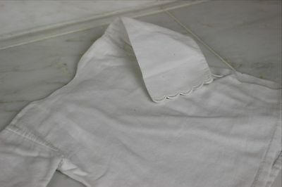 Antique Baby Jacket White Cotton Vintage Jacket or Doll's Coat